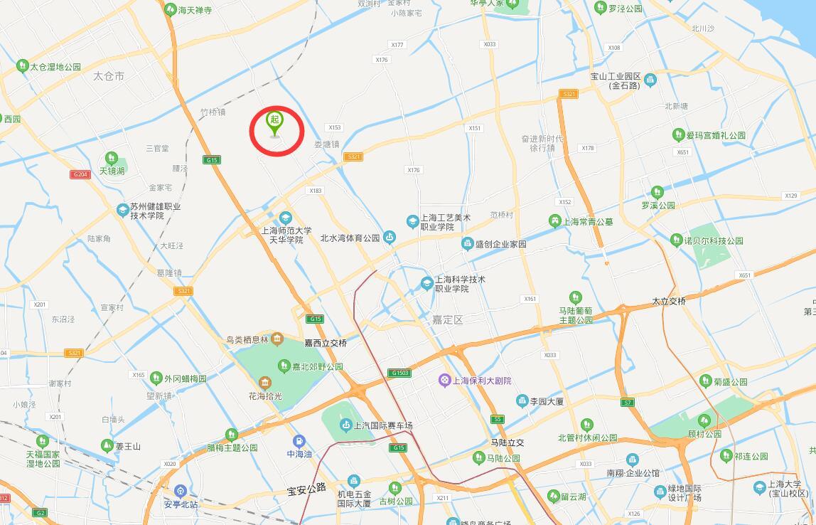 G2891上海嘉定工业区 25亩土地 4栋建筑 共1.34万方平 售价7000万  嘉定厂房土地出售