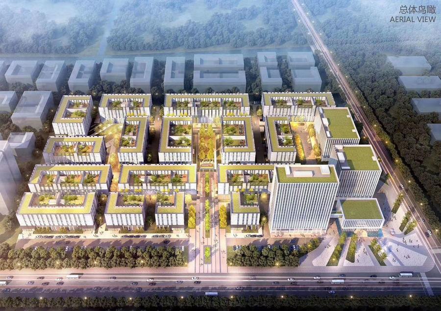 苏州(常熟)智车城产业园 虞山高新区 三层半框架标准化研发厂房出售招商 常熟城区标准厂房