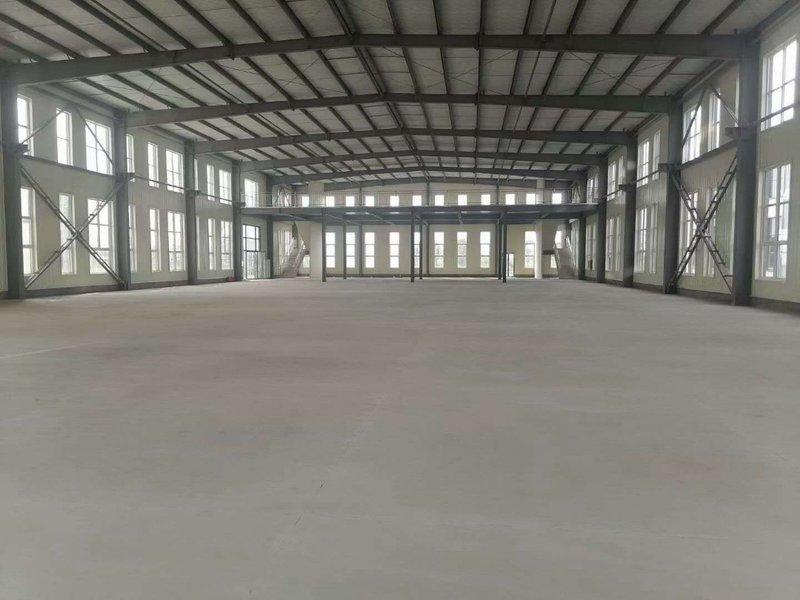 南通通州湾单层钢结构现房出售 1720平方米含208平二楼办公空间 长三角稀缺单层厂房