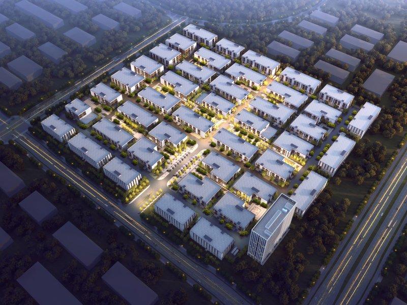 中南高科合肥 肥东锦和智能制造产业园 肥东两层三层厂房出售招商 1200平起