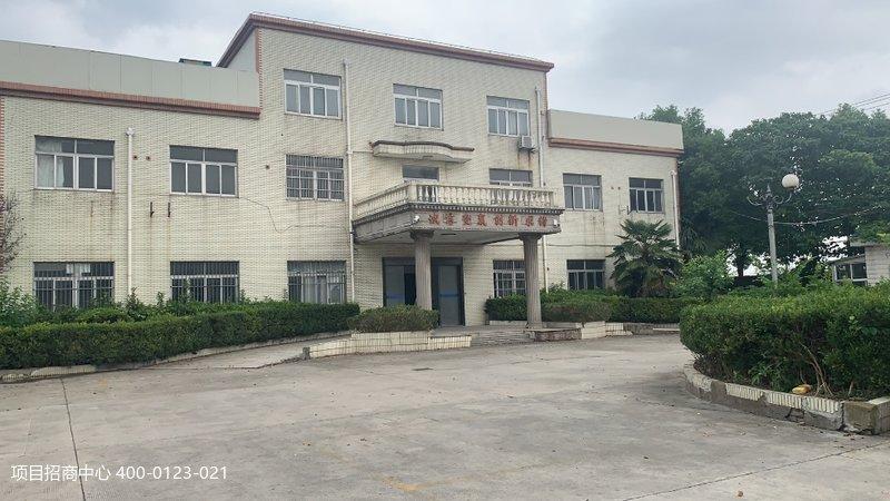 上海青浦华新镇华纪路215号 9800平米独门独院单层厂房出租