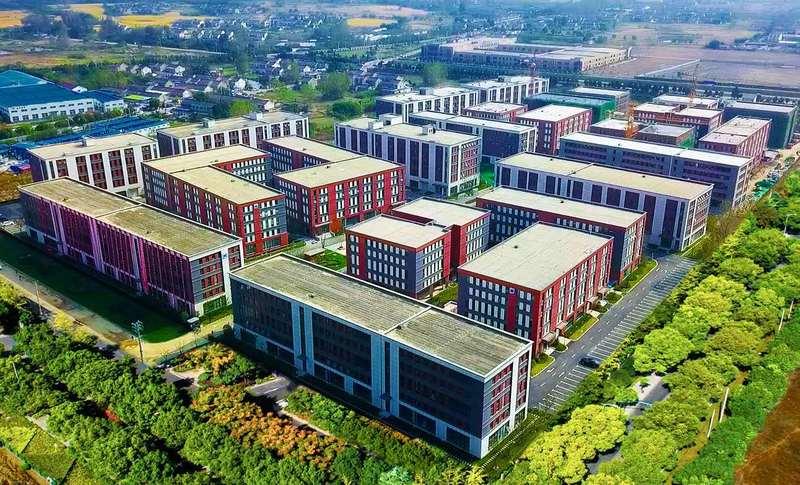 南京六合区马玉线与骁骑路中南智谷产业园 600-8000平 三层厂房可分割出租 无污染均可入园 12元起 现房出租